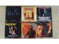 LaserDiscs for sale. 32 titles including Bad Boys, Braveheart, Aliens, Die Hard, Pulp Fiction