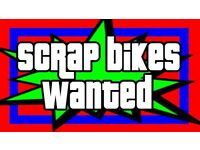 SCRAP / BROKEN / UN USED BIKES WANTED FOR FREE - MOUNTAIN BIKE - BMX - ETC