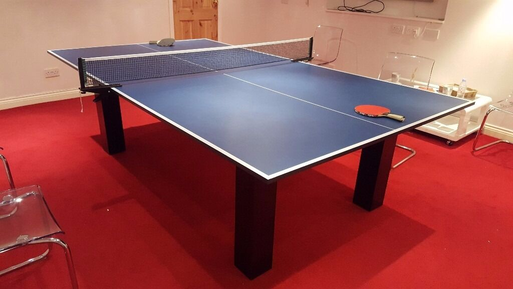 High Gloss Milano Pool Snooker Table Tennis Ping Pong And - Milano pool table