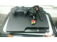 Sony ps3 with pad and charger