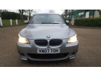 2007 BMW 5 SERIES 3.0TD 530d M Sport 4dr SAT NAV, LEATHER SEATS
