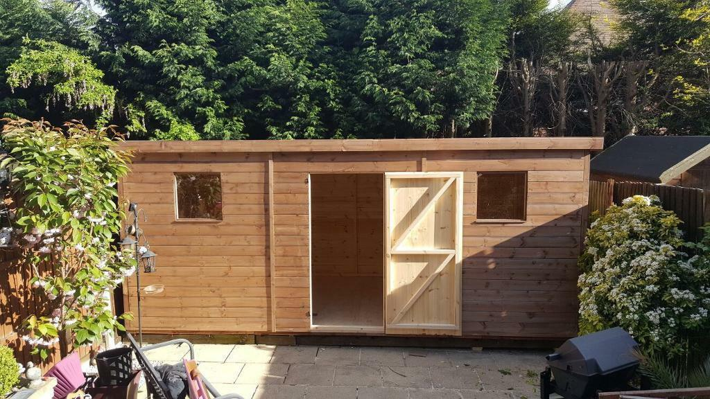 brand new woodentimber garden sheds 12x10 97000 made to measure sheds available - Garden Sheds Gumtree