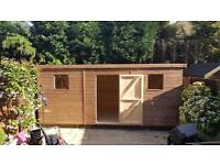 brand new woodentimber garden sheds 12x10 92000 made to measure sheds available