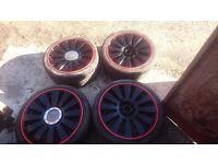 18 inch alloy wheels t4 audi vw