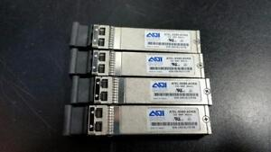 Lot of (4) AOI A7EL-SN85-ADMA Transceiver Module - 10G MFF 850nm Dual LC Fibre Channel