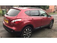 2011 NISSAN QASHQAI 4WD AUTO FULLY LOADED LADY OWNER