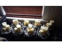 Table Centre Pieces: Bespoke designed, sold individually or8 pieces in total (£10 each or £70 for 8)