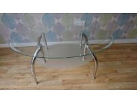 Glass Coffee Table £25 Ono