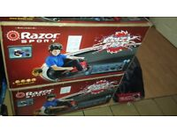 RAZOR CRAZY CART BRAND NEW SEALD BOXES I HAVE 2 OVER £450 IN SHOPS £250 ONO THEY WENT FAST LAST TIME