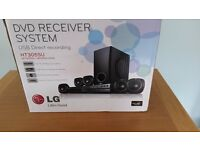LG DVD Receiver and Speaker Home Cinema System
