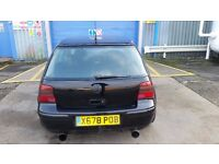Very low millage MK 4 Golf 2ltr GTI with immaculate engine. Year 2000 with 9 months MOT.