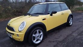 L@@K YELLOW!! MINI ONE **FULL MOT**JUST BEEN SERVICED & NEW TYRES **P.S.H**EXCELLENT THROUGHOUT
