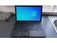Toshiba C850 Laptop | Intel CPU | 4GB | 256GB SSD | DVD-RW | Windows 10 | WebCam | HDMI