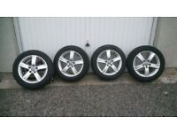 Audi A3 Alloy Wheels and Winter Tyres (VW Golf, Seat etc)