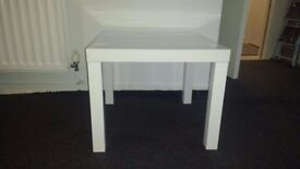 White IKEA coffee table £5 collection only