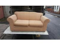 Brown fabric sofa £85 delivered free within belfast
