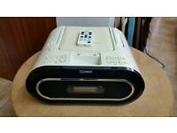 Cd player TECHNIKA with Radio & dock with remote