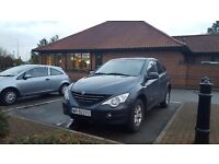 LHD 4x4 SSANGYONG ACTYON DIESEL 2007
