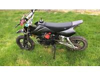 Raced tuned ghost xl 125 pitbike