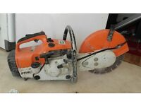 Stihl disc cutter. Used as seen but in great working order. Comes with spare parts. £175 ovno