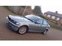 2003 (03) BMW 3 SERIES E46 318i ES 2.0L PETROL MANUAL 4DR SALOON MOT AUG 2017 HPI CLEAR SUPERB DRIVE