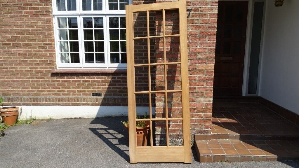 Georgian Styled Door With Glass Panels Never Used In