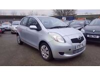 TOYOTA YARIS 1.3 T3 AUTOMATIC 5 DOOR 2007 / 78K MILES / HPI CLEAR / EXCELLENT CONDITION / 2 KEYS
