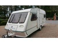 Fleetwood garland 1998 4 berth with fall awning vgc
