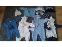 Bundles of boys clothes (0-3, 3-6 & 18-24months)