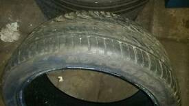 225/40/18 tyre with 9mm tread