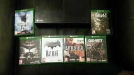 X box one with Games