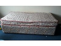 Singal bed and mattress