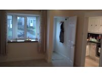 Two bedroom bungalow for rent with garage, enclosed garden and far reaching views in Foxhole