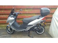 Great Condition ZEV 5100kW Electric Scooter Only 2 miles £2495 Registered & MOT
