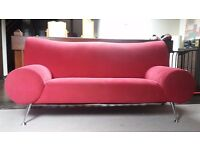 Red settee for sale
