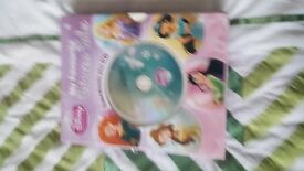 Girls Disney books and cd for sale