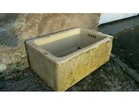 Vintage Belfast Sink Planter