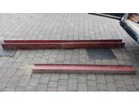 steel beam 2700mm x 152mm x 152mm x 23 UC