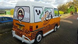 COFFE VAN FOR SALE! FULLY MOBILE AND GREAT EARNINGS!