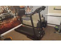 Pro Fitness Folding Electronic Treadmill