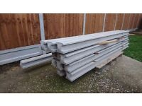 Concrete fence post 8ft