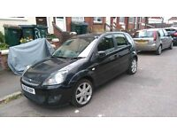 2009 fiesta zetec black diesel alloy wheels air con cheap tax and insurance ideal first car