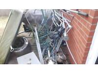 Free scrap metal for collection