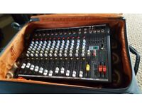 powered mixing deck