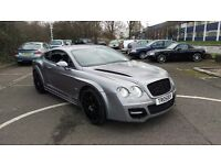 Bentley Continental GT Full Onyx BodyKit Previous Cat D 22 Inch ONYX Wheels A Real Head Turner! 1 Of