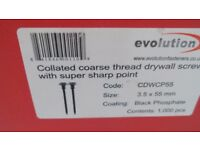 evolution drywall screws 3.5x55mm 10boxes of 1000