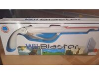 Wii Blaster Gun Brand New in Box