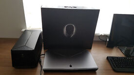 Alienware 17 R2 2015 Intel i7 4710hq Nvidia GTX 970M with Graphics Amplifier