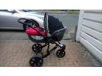 Car seat Lay Flat Carrycot Style Britax