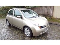 2003 Nissan Micra SE 1.2 Petrol 5 Door 1 Year MOT Immaculate Condition..